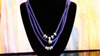 DIY Necklace with Hex Nuts