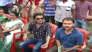 Zubeen Garg with Akhil Gogoi