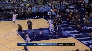 Quarter 1 One Box Video :Grizzlies Vs. Pelicans, 10/12/2017