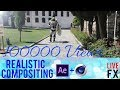 Vfx tutorial using after effects and cinema 4d - Realistic Compositing