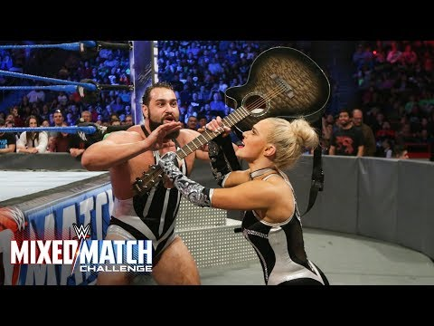 Xxx Mp4 Lana Charges The Ring With A Guitar On WWE Mixed Match Challenge 3gp Sex