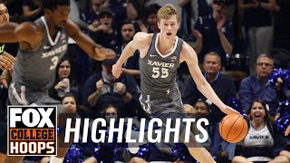 Xavier vs Kent State | Highlights | FOX COLLEGE HOOPS