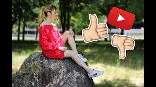 Lo que ME GUSTA y NO ME GUSTA de ser YouTuber || Rebeca Stones