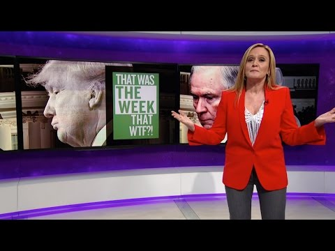That Was the Week that WTF Full Frontal with Samantha Bee TBS