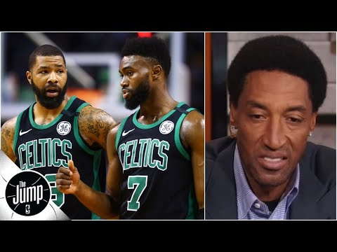 Scottie Pippen is worried about Celtics following in game argument The Jump