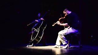double bass  viola  free improvisation  kokkinaris  malefakis  empros theater