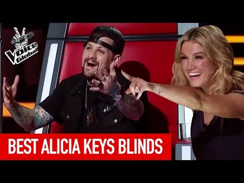 The Voice Kids BEST 'ALICIA KEYS' Blind Auditions
