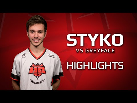 Highlights STYKO vs GreyFace at StarLadder i-League StarSeries XIV