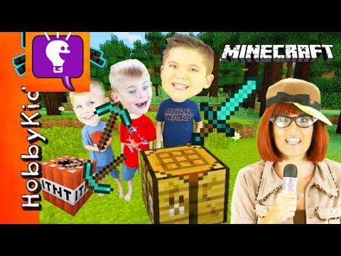 Xxx Mp4 Minecraft SCAVENGER HUNT For Surprise Toys We Play Video Games With HobbyBobby 3gp Sex