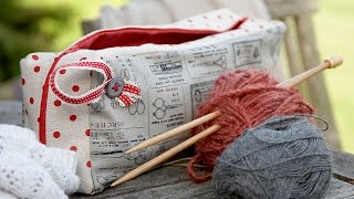 knitting needle case tutorial by Debbie Shore