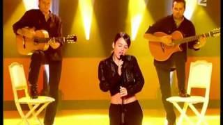 Alizee - La Isla Bonita Live Performance with Lyrics [HD]
