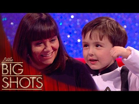 6yr old spaceman embarrasses Dad on national TV Little Big Shots