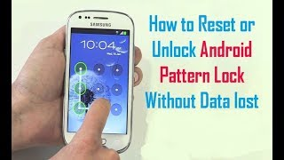 Bypass/Unlock Android pattern Lock Without Data Loss | 2017 | By SVS Tutorial