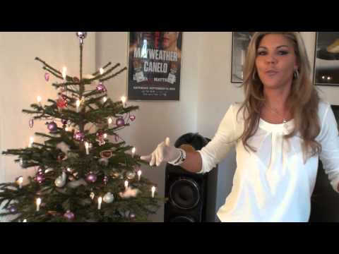 TAMIA IN HIGH HEELS WISHES YOU A HAPPY CHRISTMAS 2015
