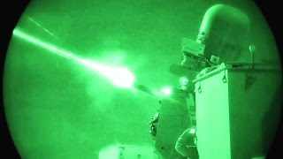 Counter Rocket, Artillery, and Mortar – CRAM Gun Test Fire