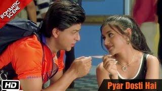 Pyar Dosti Hai - Romantic Scene - Kuch Kuch Hota Hai - Shahrukh Khan, Rani Mukerji, Kajol