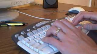 Keyboarding Technique with Narration