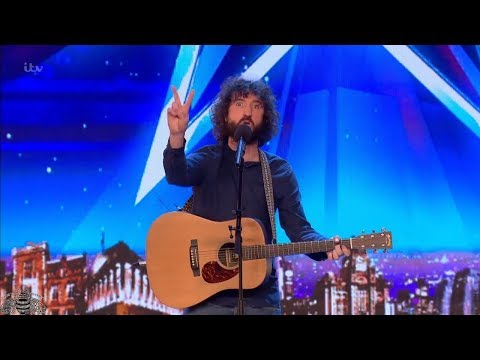 Britain's Got Talent 2018 Micky P Kerr Hilarious Comedic Musician Full Audition S12E06
