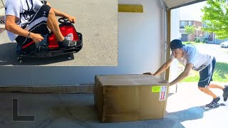 Whats In The Box?? Razor Crazy Cart Unboxing + Park Gymkhana