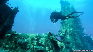 Scuba Diving on the Million Hope Wreck, Red Sea, Egypt