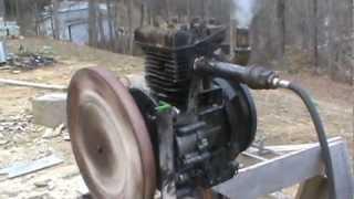 12 horse power briggs and stratton steam engine