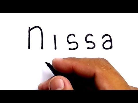 Download Lagu SYANTIK, cara menggambar kata NISSA menjadi gambar nissa sabyan group musik gambus religli islam MP3