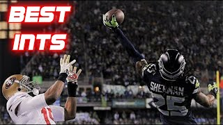 The GREATEST Interceptions in NFL History
