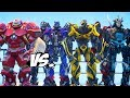 Download Video Download ALL TRANSFORMERS VS IRON MAN HULKBUSTER - Optimus Prime, Bumblebee, Stinger, Lockdown, Drift 3GP MP4 FLV