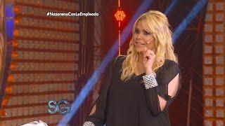 Nazarena Vélez con la empleada pública - Susana Giménez
