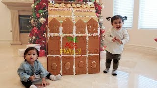 THE WORLDS BIGGEST GINGERBREAD HOUSE!!!