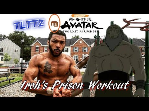 Iroh Prison Workout | Avatar ATLA Tough Like The Toonz: EP 27