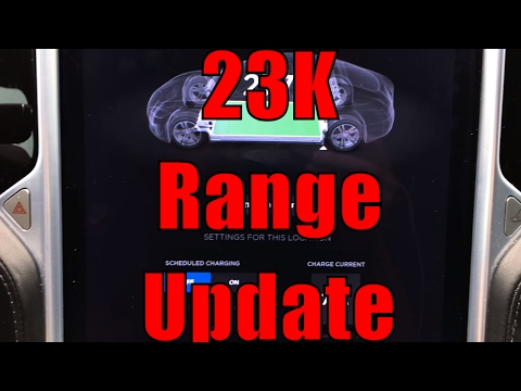 Tesla Model S 90D: Rated Range Degradation 23000 Miles 40 Weeks Ownership W/Chart