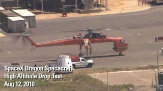 SpaceX Testing - Dragon Drop Test (HD)