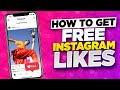 How to get FREE Instagram Likes ❤️ How I get Free Instagram Likes in 2021 iOS iPhone Android!