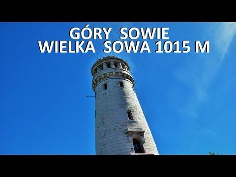 GÓRY SOWIE - Wielka Sowa 1015 M 01.06.2017