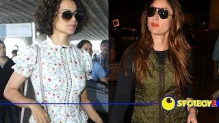 Fashion Tips from Kangana Ranaut & Kareena Kapoor | Airport Fashion | Fashtag