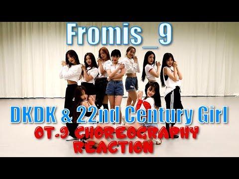 Xxx Mp4 Fromis 9 프로미스나인 DKDK 22nd Century Girl Choreography OT 9 Vers Reaction 3gp Sex