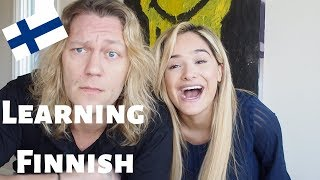 Learning Funny Sayings In Finnish From My Fiancé!