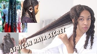 Chebe Powder for  SUPER LONG NATURAL HAIR and length retention   African Hair secret