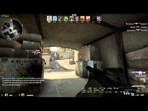 88 kills in 10 min CS:GO casual deathmatch (88-19)