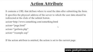 140. action attribute in HTML (Hindi)