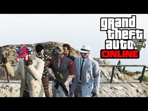 GTA V ONLINE [23]: Excursia pe Munte cu Cata, Pink, Max si Pisica!