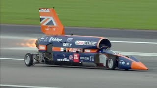 Building a supersonic car to go 1,000 mph