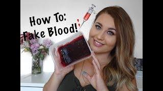 SFX The Basics | How To: Make Fake Blood