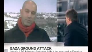 Brave Israeli Soldier Speaks Out On BBC Against the Crimes of His Government...
