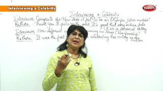 Spoken English Basic for Beginners || Interviewing A Celebrity
