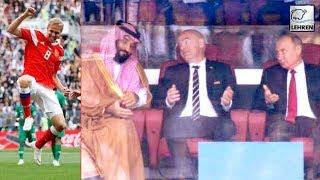 Vladimir Putin & Saudi Prince