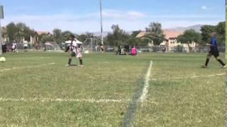 Little Girl Scores Cutest Own Goal Ever