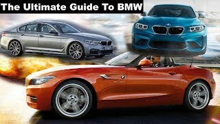 BMW for Dummies!!! (2017 Lineup)