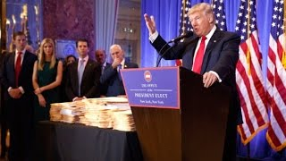 Trump: I will turn business over to my sons